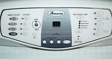 GENUINE OEM AMANA FRONT LOAD WASHER CONSOLE   CONTROL PANEL  Y2207692  2207673
