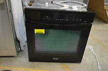 Whirlpool WOS92EC7AB 27  Black Single Electric Wall Oven NOB  13770 T2