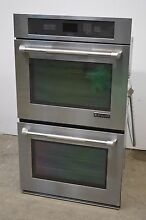 Jenn Air JJW2830WP 30  Stainless Double Electric Wall Oven  01194