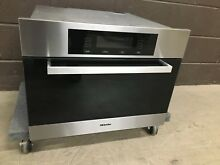 Miele Europa DGC4086XL Combination 24  Steam Convection Wall Oven XL