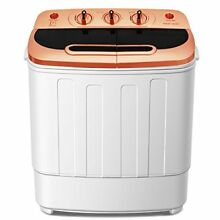 Do mini Portable Mini Compact Twin Tub 13Ibs Capacity Washing Machine and Spin