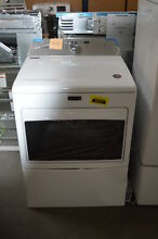 Maytag MGDB765FW 27  White Front Load Gas Dryer NOB  32363 HRT