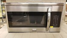 Frigidaire Microwave FGMV175QF Gallery 1 7 Cu Ft  Stainless Over The Range 1000W