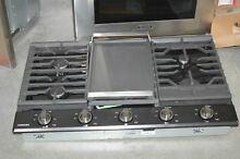 Samsung NA36K7750TG 36  Black Stainless 5 Burner Gas Cooktop NOB  32466 HRT