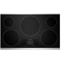 KitchenAid KECC667BSS 36  Black Smoothtop Electric Cooktop NOB  32487 CLW