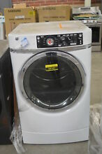 GE GFD49ERSKWW 28  White Front Load Electric Dryer NOB  32516 MAD