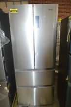 Haier HRF15N3AGS 28  Stainless French Door Refrigerator NOB  32536 HRT