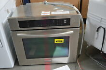KitchenAid KEBK101SSS 30  Stainless Electric Single Wall Oven  32615 HRT