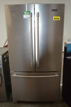 Maytag MFC2062FEZ 36  Stainless Counter Depth French Door Refrigerator 32647 HRT