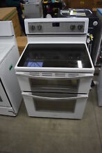 Whirlpool WGE745C0FH 30  White Double Oven Electric Range NOB  32748 HRT