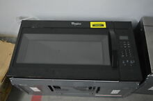 Whirlpool WMH31017FB 30  Black Over The Range Microwave NOB  32985 WLK