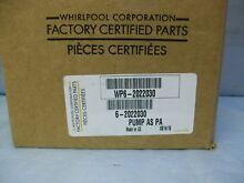 Maytag Whirlpool Speed Queen washer drain pump 6 2022030  WP6 2022030  202203