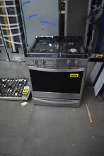 Whirlpool WEG750H0HZ 30  Stainless 5 Burner Slide in Gas Range NOB  33395 HRT