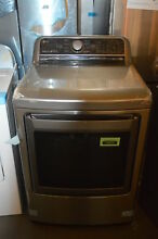LG DLE7200VE 27  Graphite Steel Front Load Electric Dryer NOB  33408 HRT