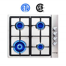 Gas Cooktop  Gasland chef Built in Gas Stove Top  Stainless Steel LPG Natural 4