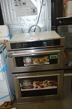KitchenAid KOCE500ESS 30  Stainless Microwave Combination Oven NOB  33643 HRT