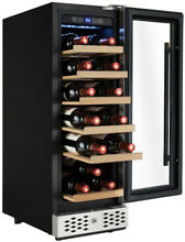 Wine Refrigerator Beverage Cooler Compressor Built In Storage 18 Bottle 36 Can