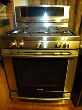 ELECTROLUX  5 BURNER GAS RANGE Model EW30DF65GSD   NEW STORE DISPLAY   REDUCED