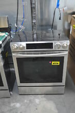 Samsung NE58F9500SS 30  Stainless Slide In Electric Range NOB  33939 HRT
