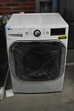 LG DLEX8100W 29  White Front Load Electric Dryer 9 0 NOB  33986 HRT