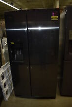 Samsung RS25H5111SG 36  Black Stainless Side By Side Refrigerator NOB  34174 HRT