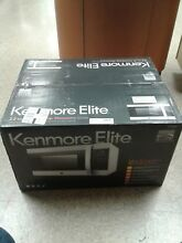 Kenmore Elite 79393 2 2 Cubic Foot Counter Top Microwave Oven in Stainless 28384