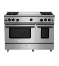 BlueStar RNB484FTBV2 48  Stainless Freestanding Natural Gas Range NOB  24139