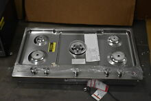 KitchenAid KCGS556ESS 36  Stainless Gas Cooktop NOB  36823 HRT