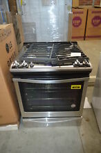 Whirlpool WEG745H0FS 30  Stainless Slide In Gas Range NOB  33157 HRT