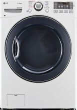 LG DLEX3570W 27  White Front Load Electric Steam Dryer NOB  33160 HRT