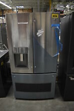 GE PYE22KSKSS 36  Stainless French Door Refrigerator NOB CD  36589 CLW