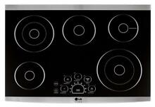 LG LSCE305ST 30  Stainless Electric Cooktop NIB  36660 HRT