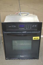 Whirlpool WOS51ES4EB 24  Black Electric Single Wall Oven NOB  37289 HRT