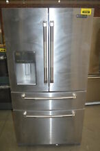 Jenn Air JFX2897DRP 36  Stainless French Door Refrigerator NOB  37296 MAD