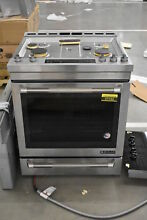 Jenn Air JGS1450FP 30  Stainless Slide in Gas Range NOB  37162 HRT