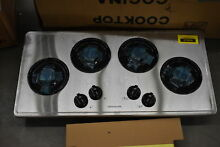 Frigidaire FFGC3613LS 36  Stainless 4 Burner Gas Cooktop NOB  37094 HRT