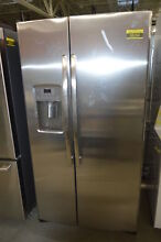 GE Adora DSE25JSHSS 36  Stainless Side By Side Refrigerator NOB  34194 HRT