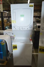 GE Spacemaker GUD27GSSMWW 27  White Gas Dryer Washer Laundry Center  34142 CLN