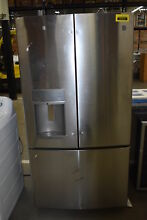 GE DFE28JSKSS 36  Stainless French Door Refrigerator NOB  37513 CLW