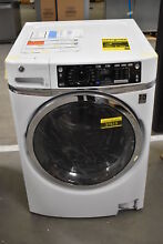 GE GFW480SSKWW 28  White Front Load Washer NOB  37615 HRT
