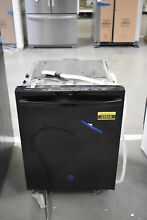 GE DDT595SGJBB 24  Black Fully Integrated Dishwasher NOB  37616 MAD