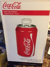 Collectors COCA COLA MINI CAN FRIDGE COKE THERMOELECTRIC COOLER Ne