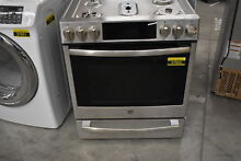 GE PGS930SELSS 30  Stainless Slide In 5 Burner Gas Range NOB  37852 HRT