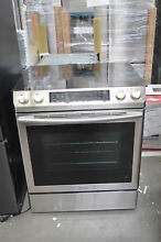 Samsung NE58K9430SS 30  Stainless Slide In Electric Range NOB  35090 HRT