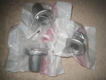 NIP Lot of 3   Whirlpool Kenmore Gas Stove Small Surface Burner Heads 3186478