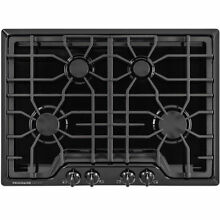 Frigidaire Gallery 30 in  Gas Cooktop in Black with 4 Burners