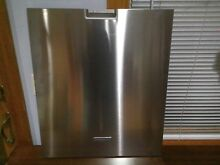 Dishwasher Stainless Door Cover Outer Panel KitchenAid KDFE454CSS