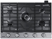 Samsung NA30N6555TS 30  Stainless Natural Gas Cooktop NOB  31910 CLW