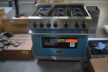 Viking VGR5366BSS 36  Pro Style Gas Range Stainless Convection  31695 HRT
