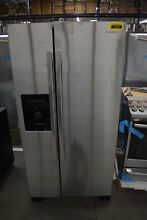 Amana ASI2175GRS 33  Stainless Side By Side Refrigerator NOB  37230 CLN